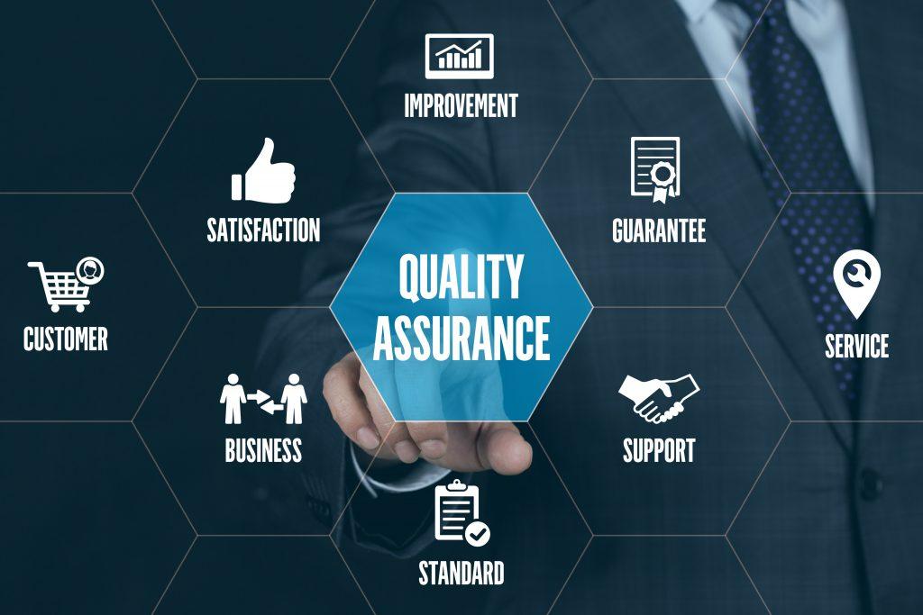 QUALITY ASSURANCE TECHNOLOGY COMMUNICATION TOUCHSCREEN FUTURISTI